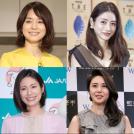 石田ゆり子、石原さとみ、松下奈緒、松嶋菜々子の顔写真