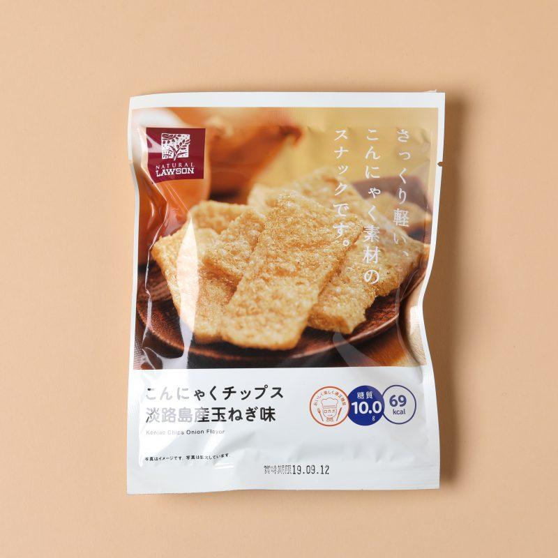 ローソンのこんにゃくチップス 淡路島産玉ねぎ味