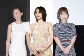 長澤まさみは美しさ際立つ花柄ワンピ姿!令和を彩る美女5人の【ファッションチェック】