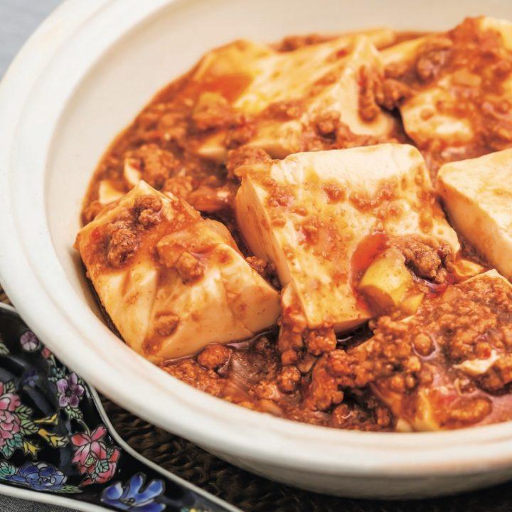 「即やせパウダー」を使った麻婆豆腐