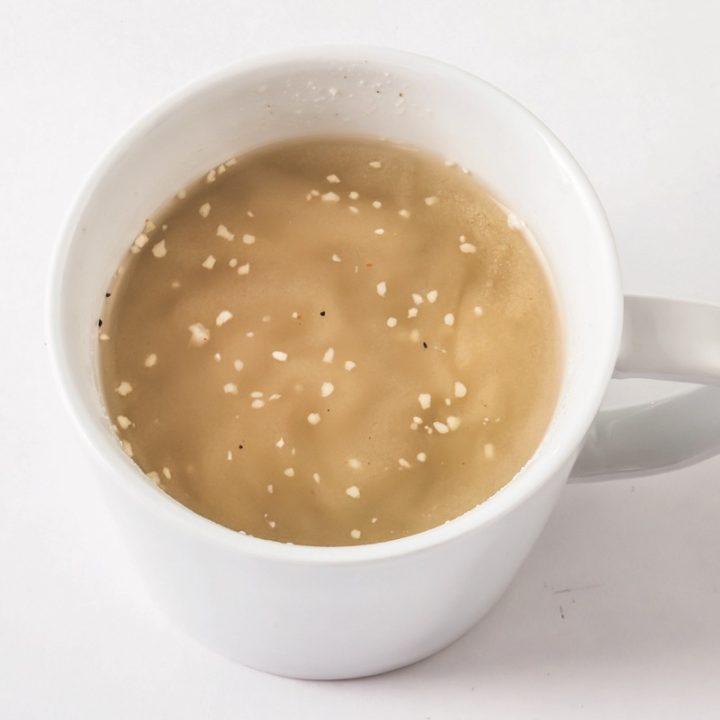 「即やせパウダー」のスープ
