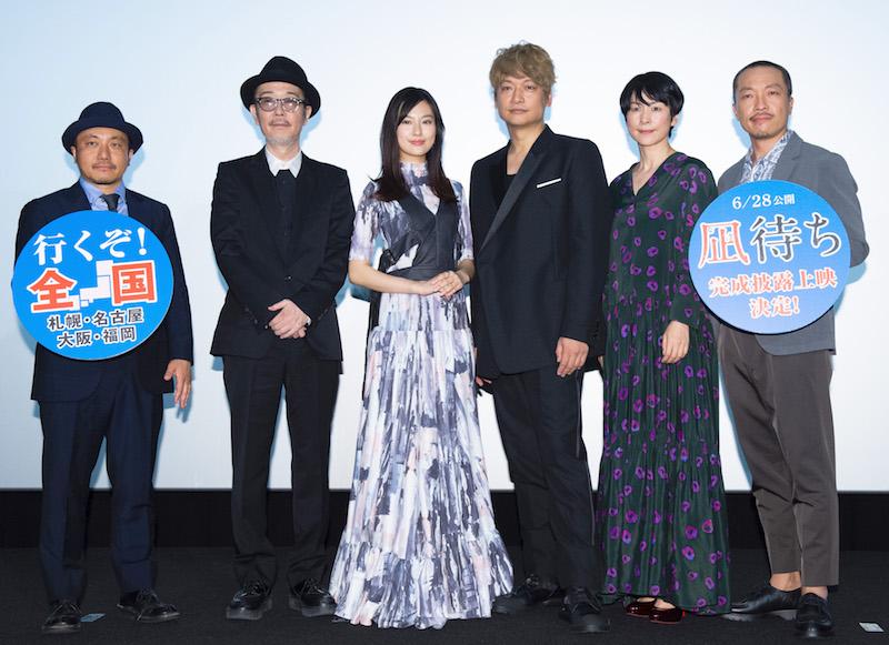 白石和彌監督、リリー・フランキー、恒松祐里、香取慎吾、西田尚美、音尾琢真
