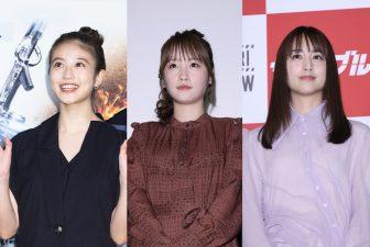 山本美月、川栄李奈ら女優4人、個性発揮のワンピスタイル!【ファッションチェック】