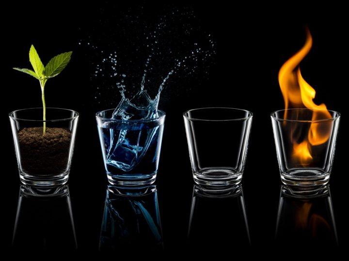 四元素のイメージ画像