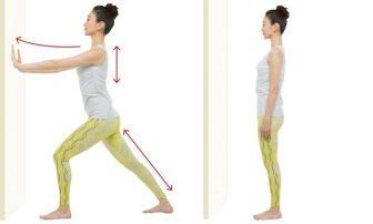 5秒!ひざ裏伸ばしのやり方|腰痛改善につながる壁ドン&壁ピタストレッチ