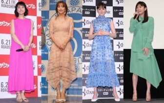 篠原涼子、前田敦子ら女優9人のカラー別、初夏の彩りコーデ【ファッションチェック】