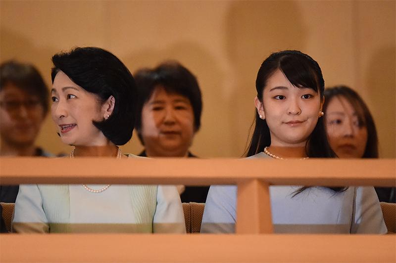 紀子さまと眞子さま