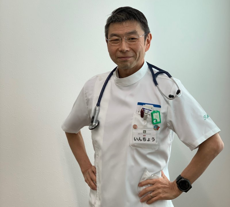田井メディカルクリニック院長 田井祐爾さん