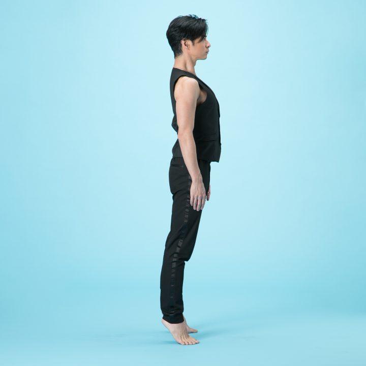 背伸びのやり方2