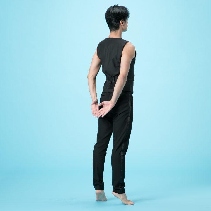 背伸びを安定させる方法
