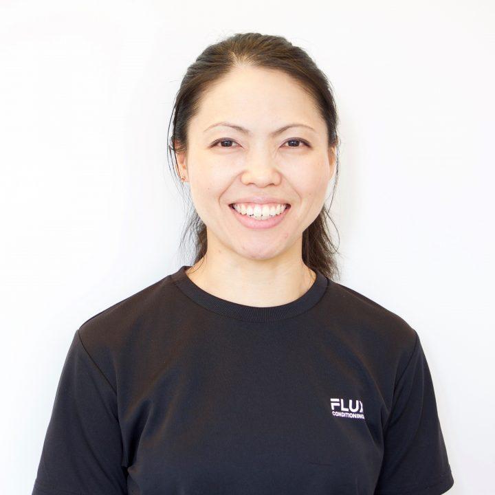 FLUX CONDITIONINGS コンディショニングトレーナーの三田村真希さんの顔