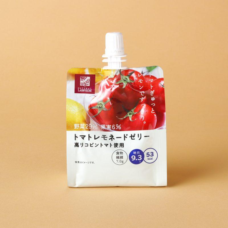 ナチュラルローソンのNLトマトレモネードゼリー ~高リコピントマト使用 150g