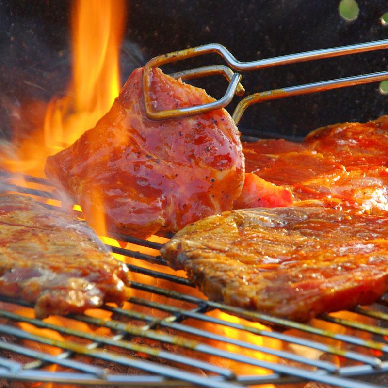 バーベキュー・肉