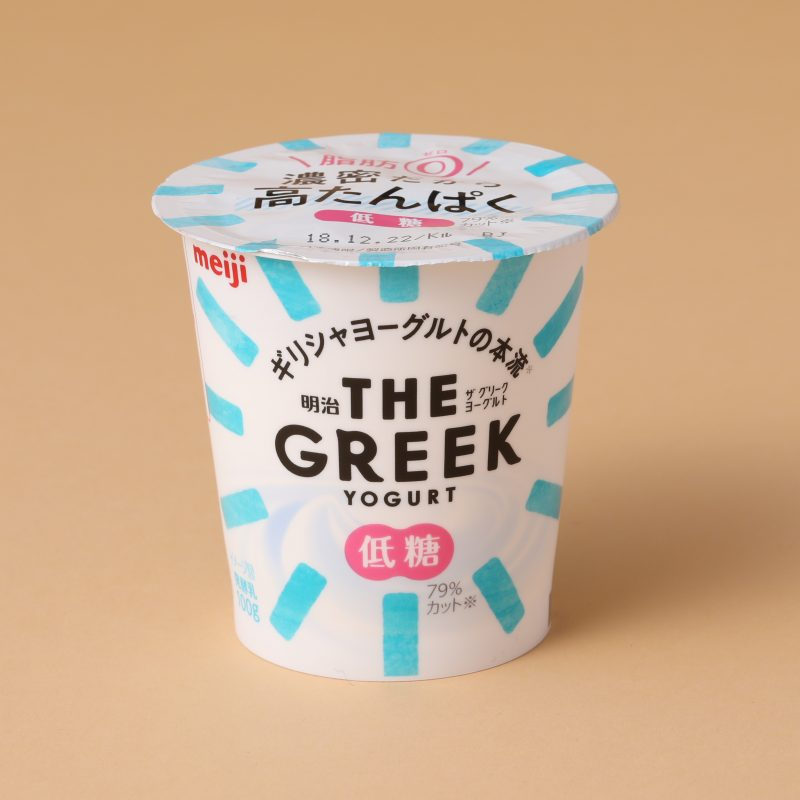 明治 THE GREEK YOGURT 低糖