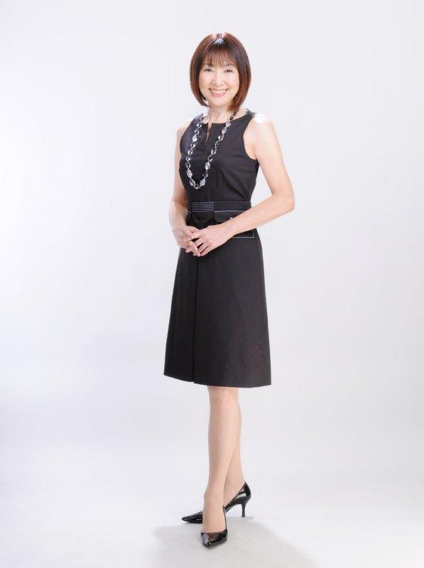 姿勢良く立つ日本ソワサンタンウォーキング協会代表の松尾多惠子さん