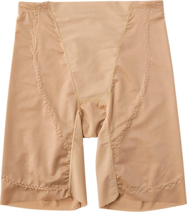 ルシアンのショーツ、ももほっそりパンツ ロング丈