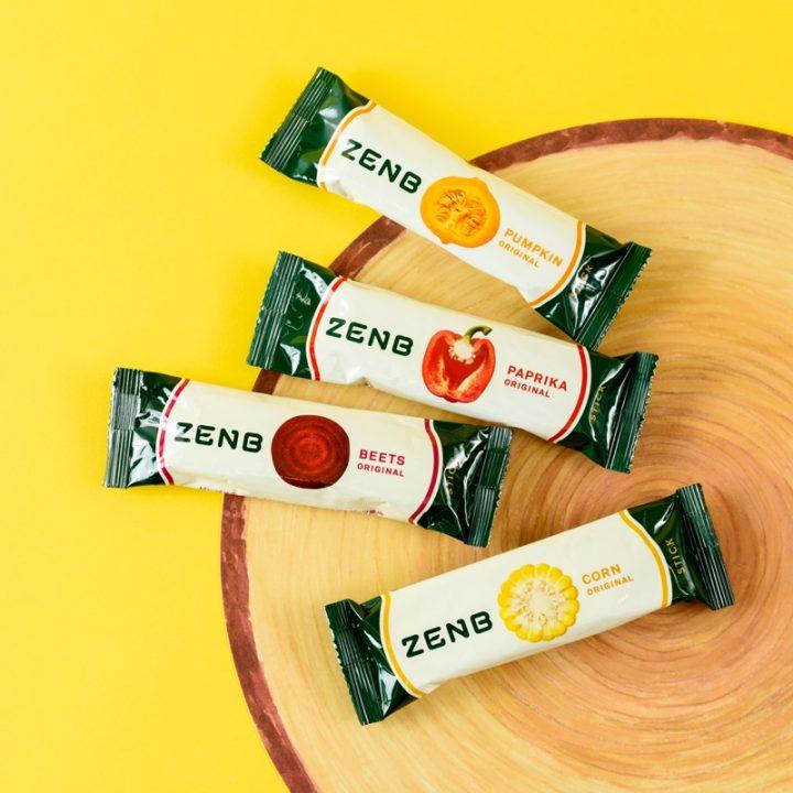 『ZENB』パッケージ4種