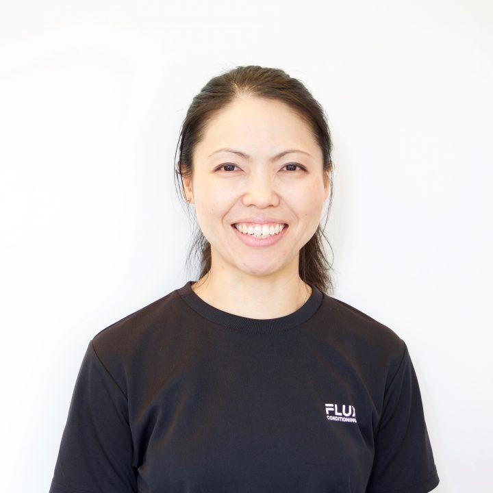 FLUX CONDITIONINGS コンディショニングトレーナーの三田村真希さん
