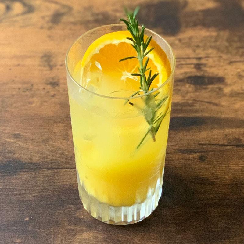 緑茶オレンジ