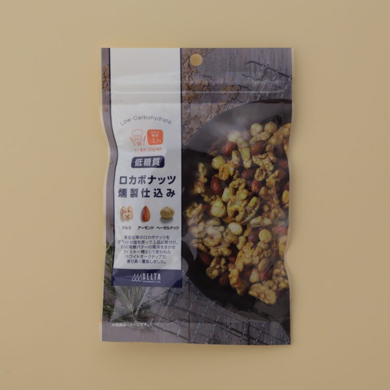 デルタインターナショナルロカボナッツ 燻製仕込み