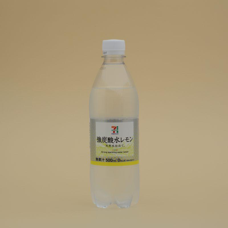 セブンイレブンの強炭酸水レモン 500ml