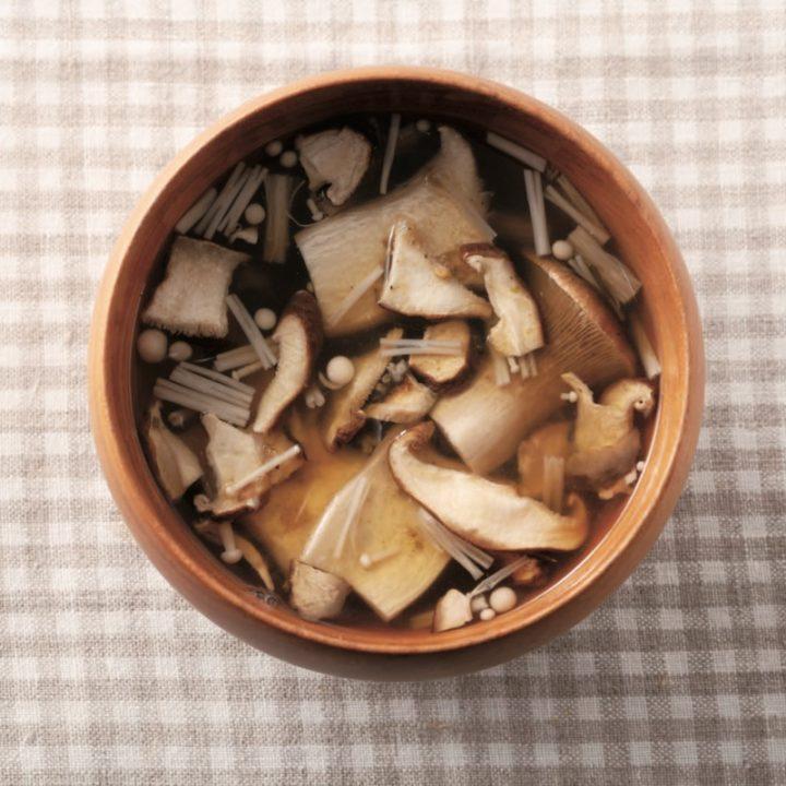 「やせる出汁」を使って作ったスープ