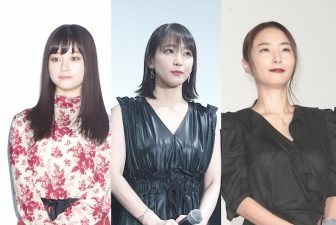 吉岡里帆は黒のレザー調で大人っぽく!異彩放つ女優4人のワンピコーデ術【ファッションチェック】