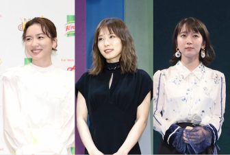 松岡茉優は胸元スリットで魅了!美女4人の秋コーデ集【ファッションチェック】