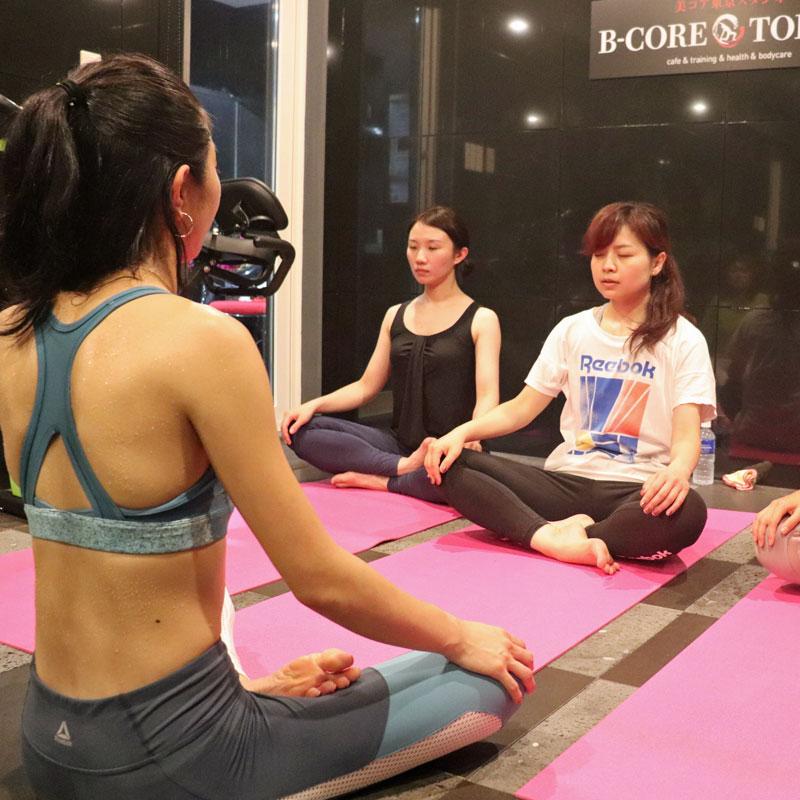 「心と身体を変える美コアダイエットプロジェクト」参加者たち