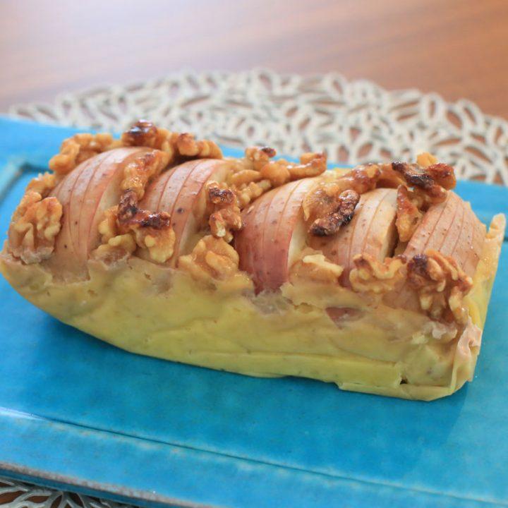市橋有里がレシピ考案した無敵のダイエット&ビューティースイーツ、グルテンフリーの「さつまいもとりんごのパテ」