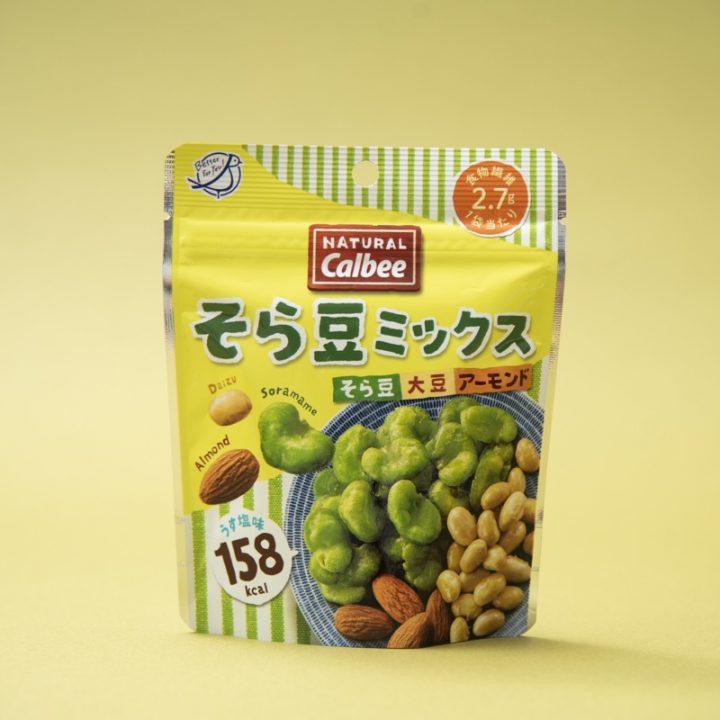 『そら豆ミックス』のパッケージ