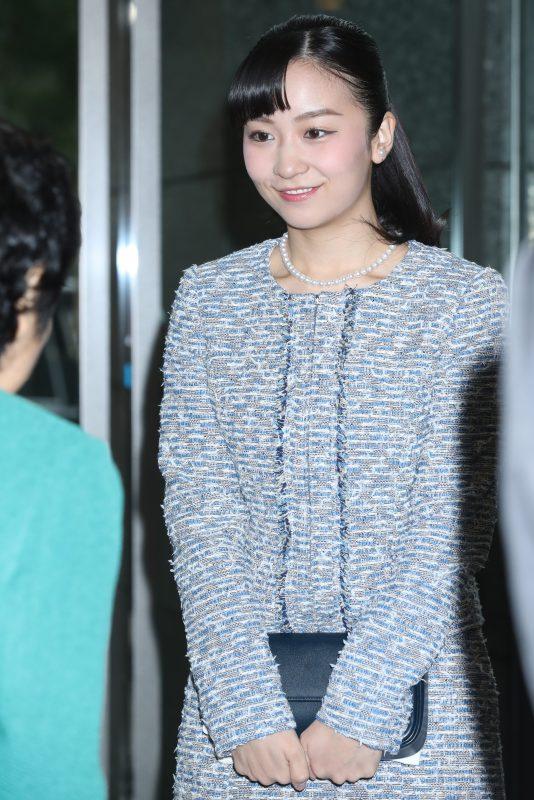 東京都渋谷区で開かれた「第11回コミュニティアクションチャレンジ100アワード表彰式」に出席された秋篠宮家の次女佳子さま(24)