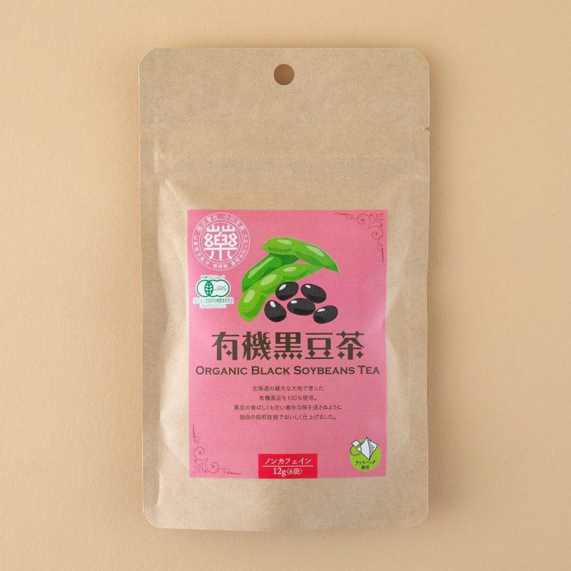 小川生薬の北海道産有機黒豆茶12g×6包