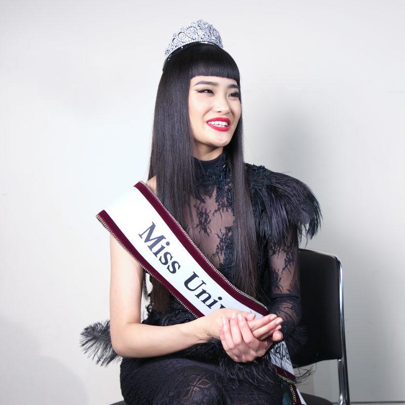 ミス・ユニバース2019年日本代表の加茂あこ