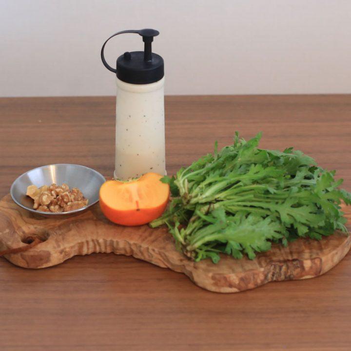 市橋有里がレシピ考案した免疫力アップの「秋のシーザーサラダ」材料