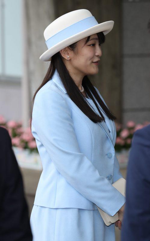 10月8日に行われた茨城国体の閉会式に出席された眞子さま