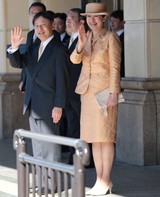 11月23日に帰京される天皇皇后両陛下