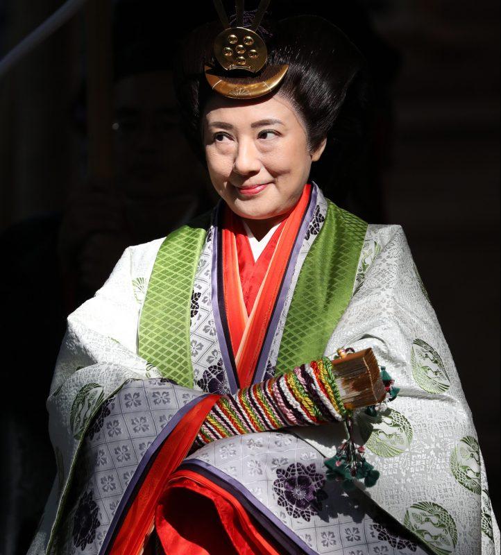 11月23日に伊勢神宮を参拝される皇后雅子さま