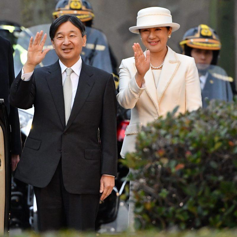 11月26日奈良県をご訪問された天皇両陛下