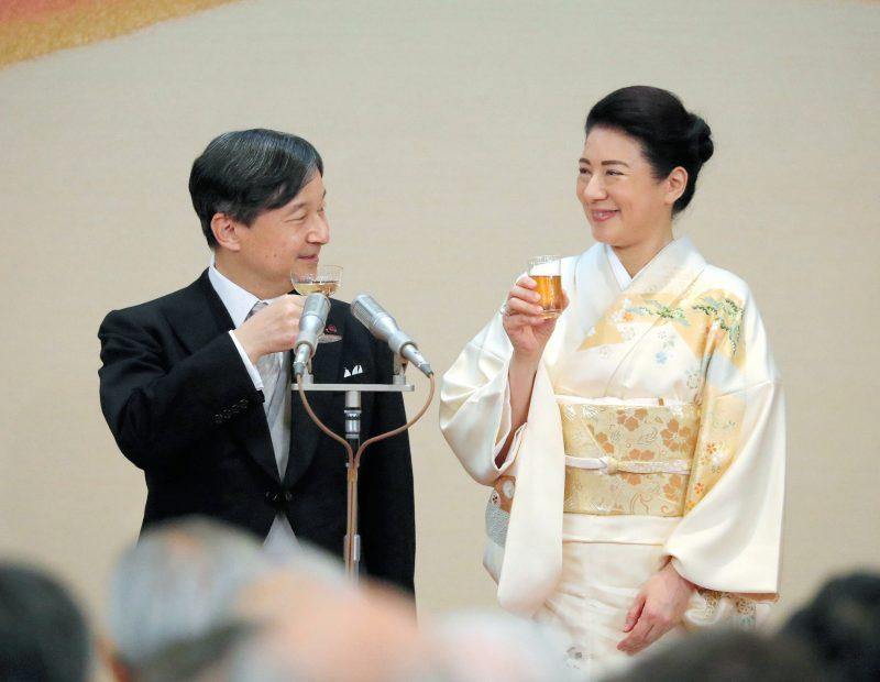 饗宴の儀4日目の新天皇と皇后雅子さま