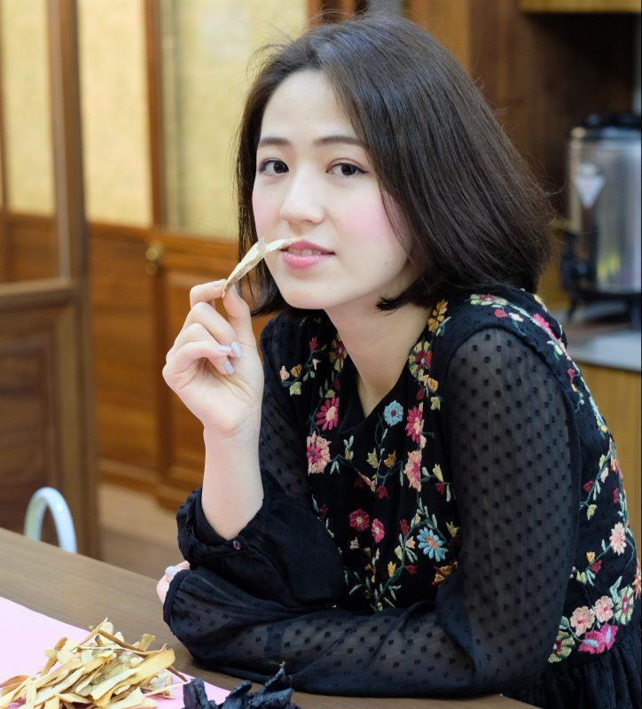 台湾発漢方の「DAYLILY」COOの王 怡婷さん