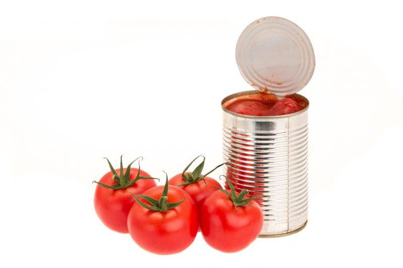 トマトとトマト水煮缶