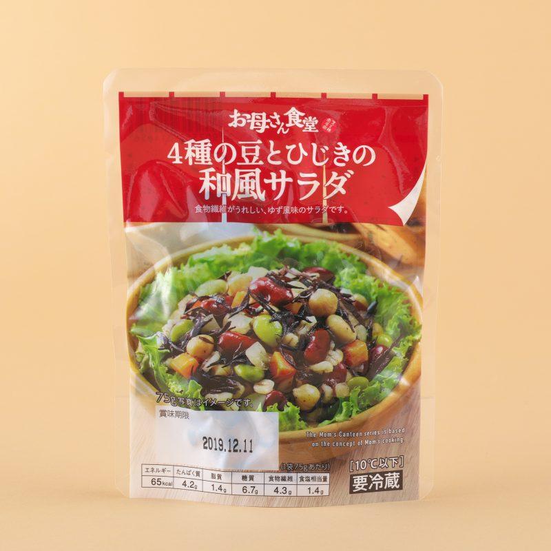 ファミリーマートの4種の豆とひじきの和風サラダ