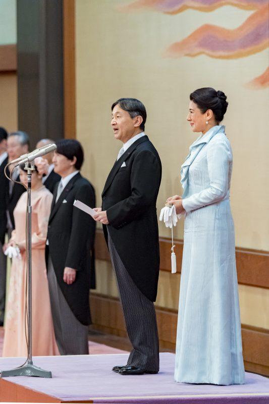 饗宴の儀2日目の新天皇と皇后雅子さま