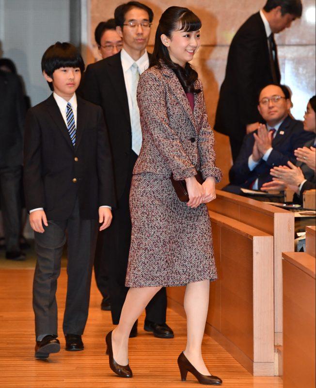 12月8日「第41回少年の主張全国大会~わたしの主張2019~」に出席された悠仁さまと佳子さま
