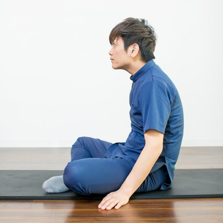 腹式呼吸のやり方NG姿勢