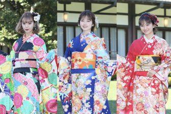 祝令和2年!小芝風花、藤田ニコルらオスカー美女11人の鮮やかな晴れ着姿