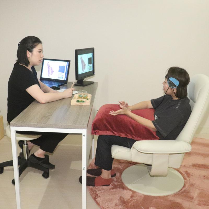 「腸ケア測定ファスティングパックプラン」での腸のカウンセリング