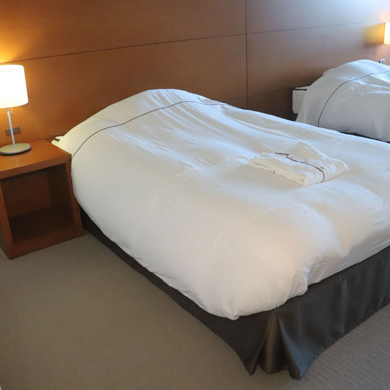 「京和晒綿紗」という素材を使用した寝具