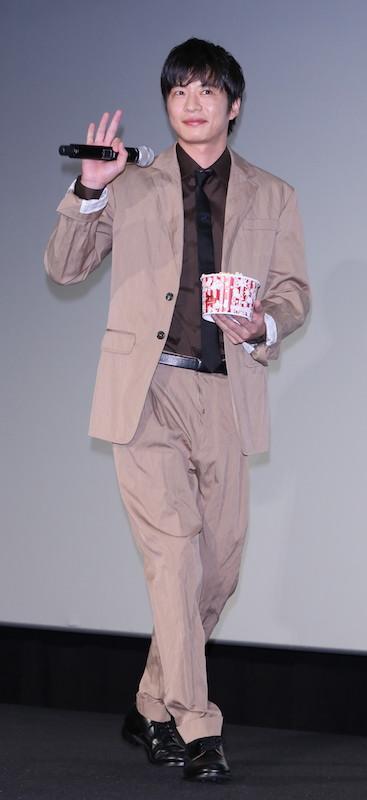 映画『劇場版おっさんずラブ〜LOVE or DEAD〜』に先駆けて、開催されたドラマ版のイッキ見上映会に登壇した田中圭